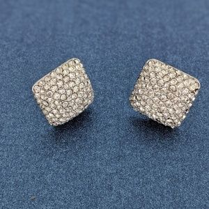 Kenneth Jay Lane Vintage Square Earrings
